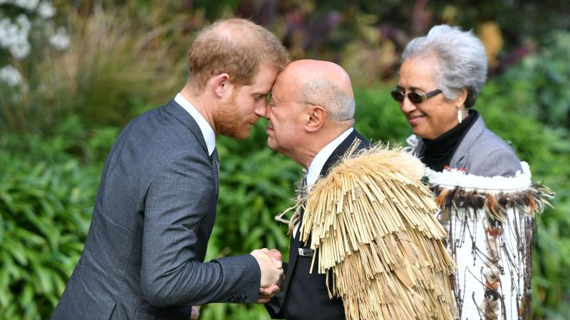 Prince Harry and Meghan in New Zealand