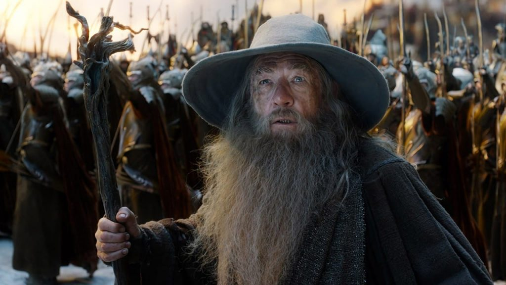 Lord of the Rings series features original music from the Peter Jackson movie trilogy