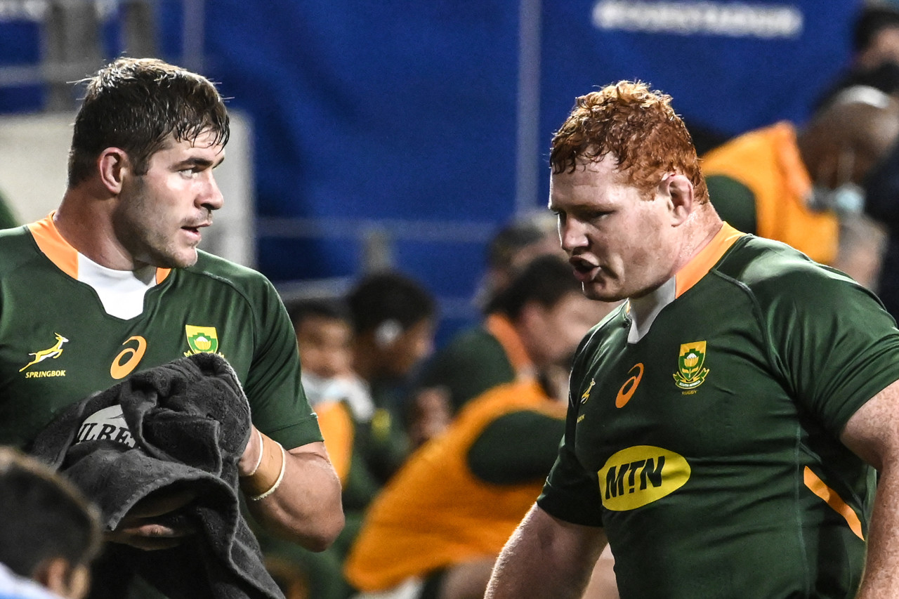 South Africa did for Malcolm Marks and Stephen Kitchoff the New Zealand package very poorly.