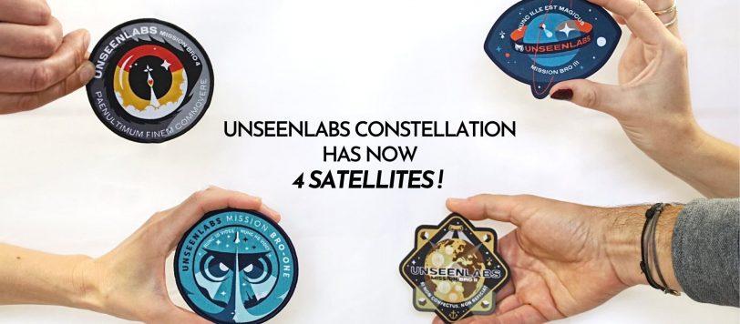 Un quatrième satellite de géolocalisation RF pour Unseenlabs