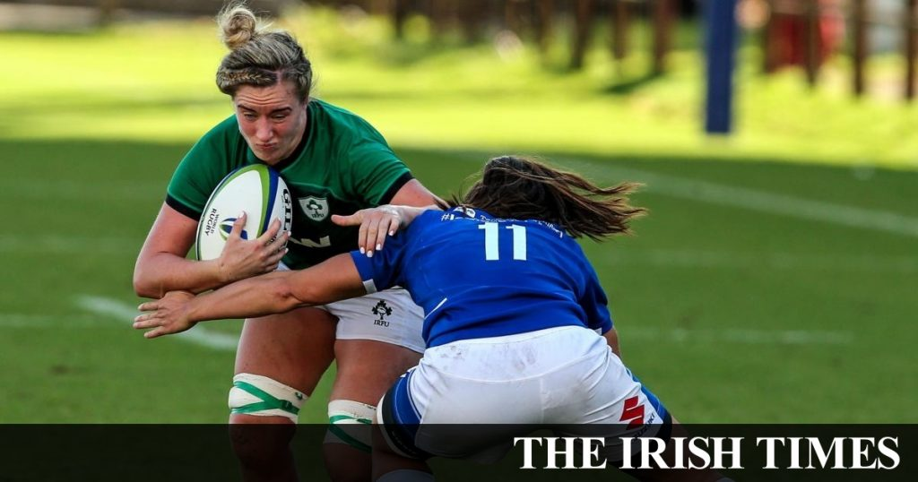 Adele McMahon says Ireland 'having pressure' to qualify for the World Cup