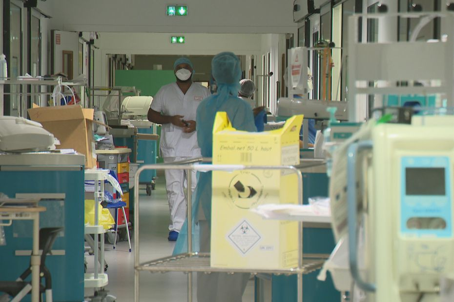 After coming to strengthen Martinique University Hospital, the caregiver criticizes the organization