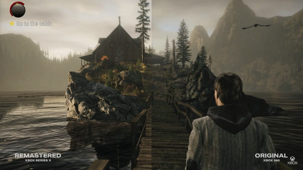 Alan Wake Remastered: Video comparison of Xbox Series X and Xbox 360 versions |  Xbox One