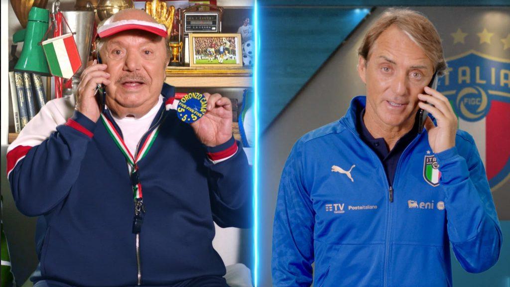 Along with Oronzo were Roberto Mancini