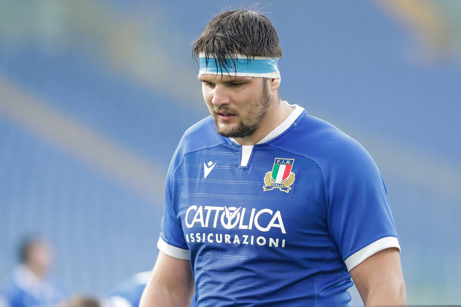 Italy will challenge the All Blacks at the Olympics.  Then he goes to Genoa and Parma - or A Sport