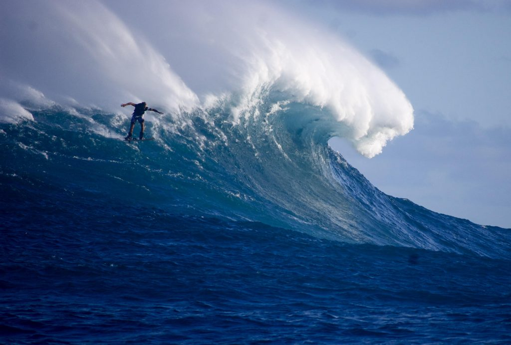 Laird Hamilton, entrepreneur and surfer who takes pleasure in helping others