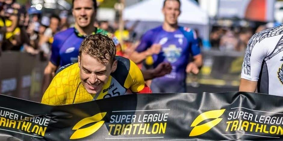 L'incroyable sprint de Marten Van Riel à Malibu !