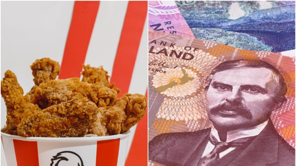 Men caught smuggling Kentucky Fried Chicken and trunk full of cash in Oakland