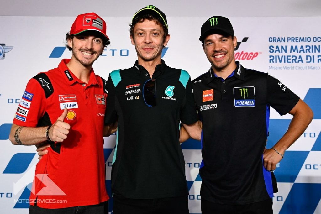 MotoGP 2021 Russian wants to say goodbye to Italy without giving up his pharaohs Bagnaia and Morbidelli