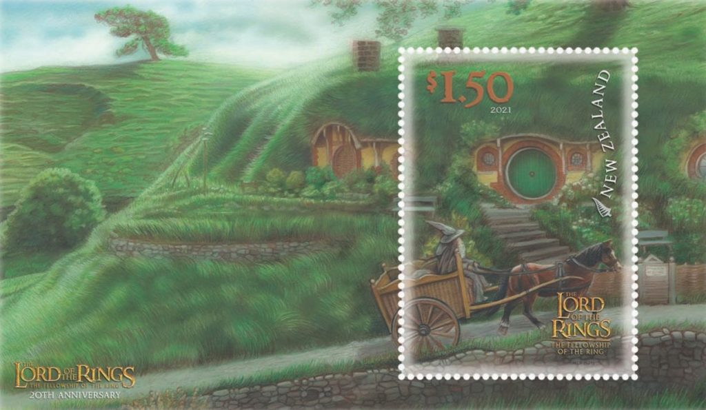 New Zealand: Stamps arrive from The Lord of the Rings