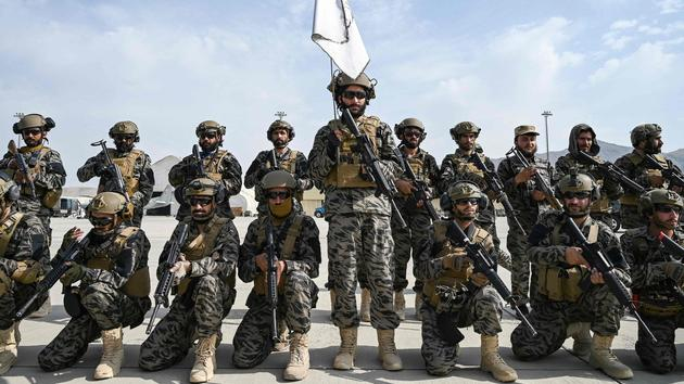 The Taliban controls the arsenal left by the Americans