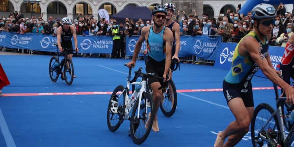 Triathlon : Erwin Vanderplancke 9e à Hambourg !
