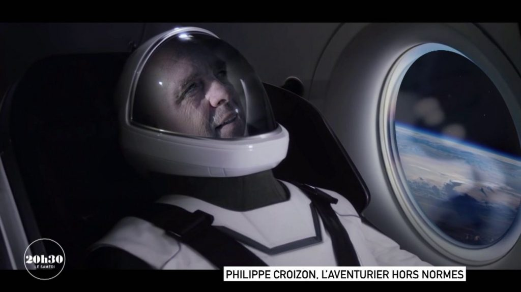 Video.  Portrait of Philip Croison, the French adventurer who dreams of being the first disabled person to leave space thanks to Elon Musk
