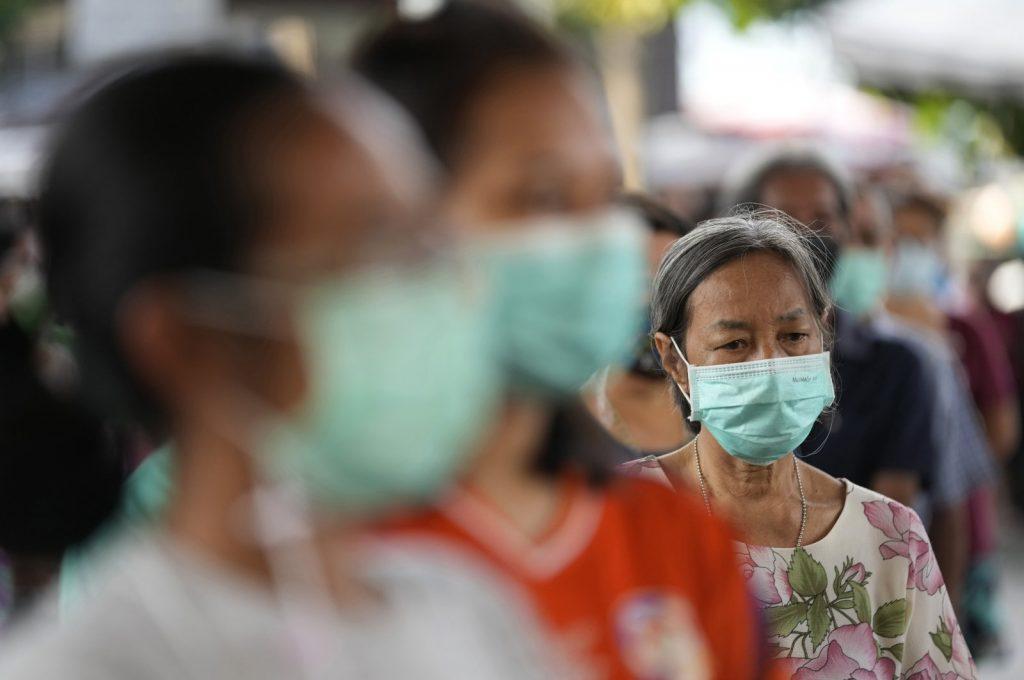 Volunteers helping poorer COVID-19 wave in Thailand