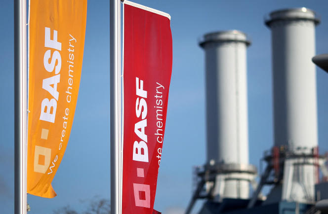 At BASF headquarters in Ludwigshafen in February 2020.