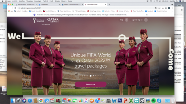 Seven travel packages for the 2022 World Cup