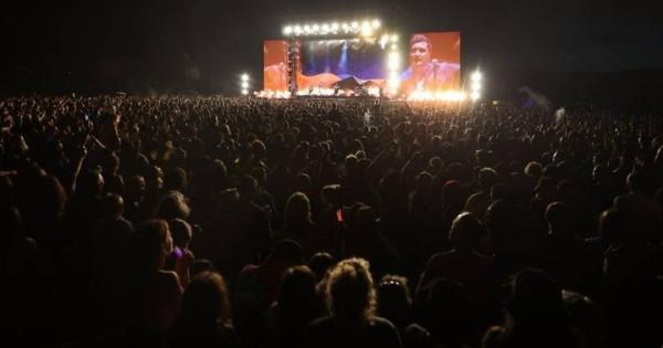 New Zealand: The biggest concert since the start of the pandemic