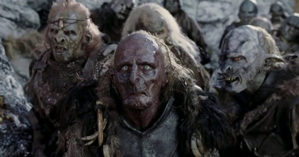 This is why an orc looks like Harvey Weinstein