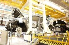 Manufacture of Renault Megane e-tech electric douai