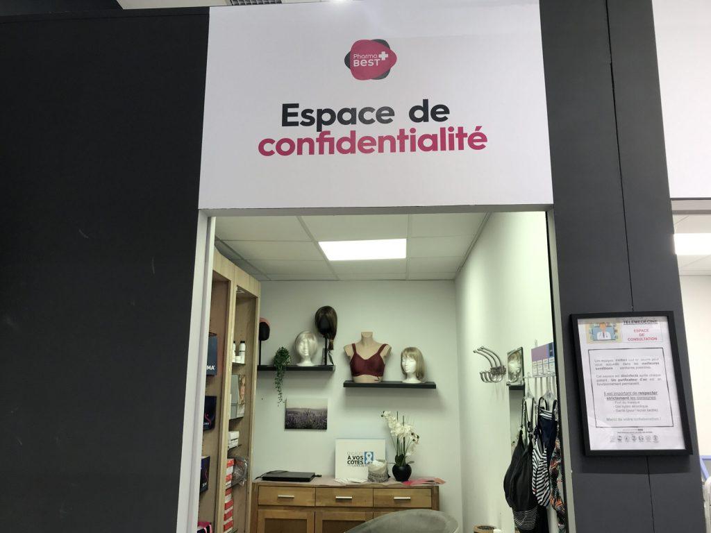 ALÈS at Praden Pharmacy, a secret space for cancer patients