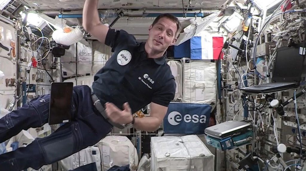 Astronaut Thomas Pesquet becomes the first French to command the International Space Station