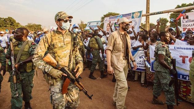 How Vladimir Putin is pushing his mercenaries to Africa