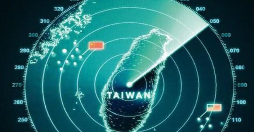 In four days, 150 Chinese fighters were on alert in the skies of Taiwan