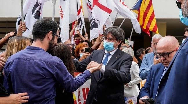 Justice suspends proceedings against Catalan leader Carles Puigdemont, pending a European decision