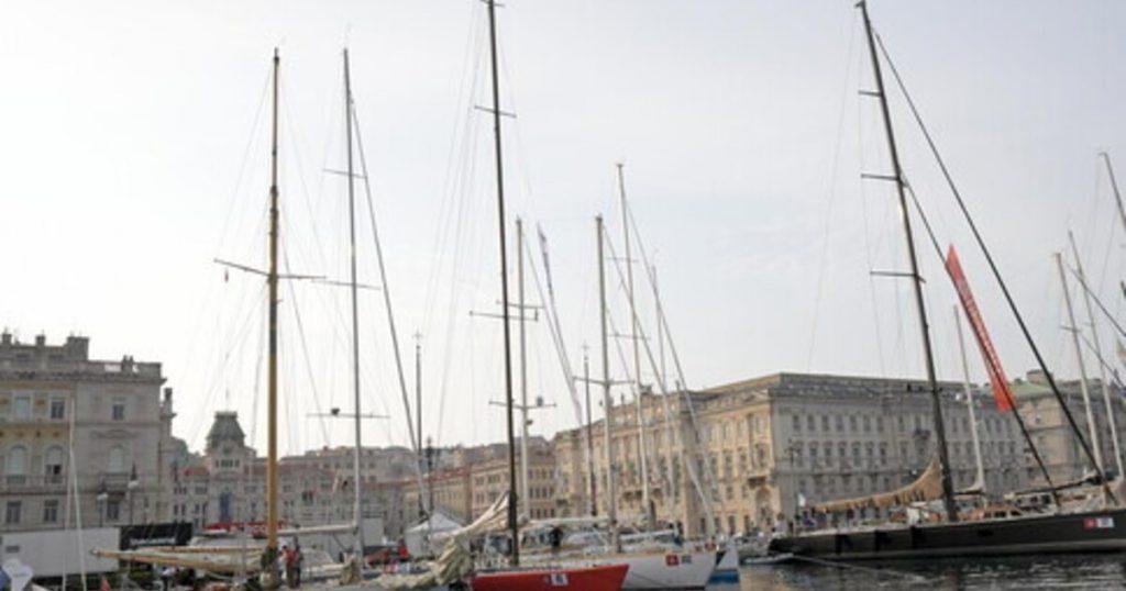 Sail in celebration in Barcolana