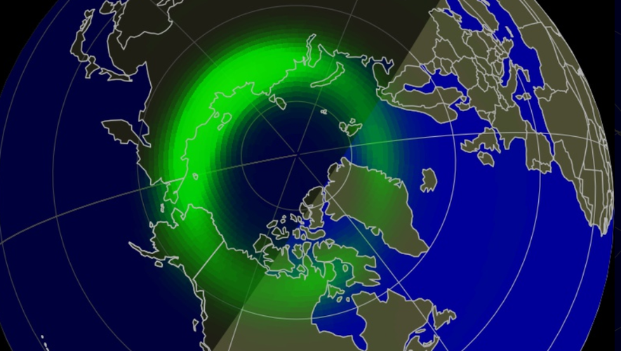 Solar Storm - Northern lights seen up to US and UK, new magnetic peak expected on Friday