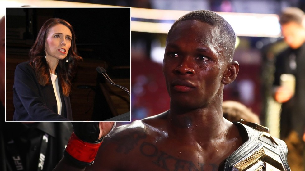 'Turn on the gas or lie': UFC Adesanya star slammed New Zealand PM Ardern over quarantine rules after pledging not to fight in the country again